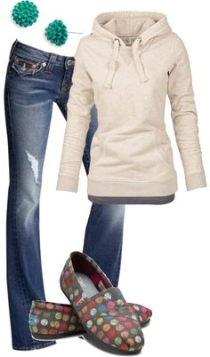 Simple perfect warm fall outfit ladies fashion . . . click on pic to see more
