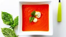 Deliciously Easy Tomato Soup with Parmesan Dumplings