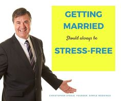 Your wedding should be enjoyable relaxing and above all stress-free! #marriagecelebrant #weddingcelebrant #civilcelebrant #celebrant #life #stress-free