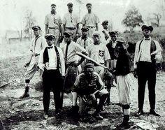 African American Baseball Team by Black History Album, via Flickr