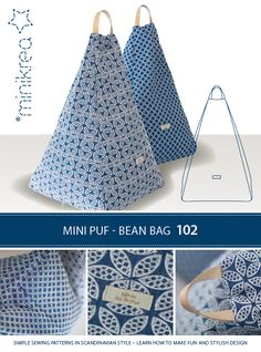 Bean Bag Chairs For Adults Sewing Art, Sewing Crafts, Sewing Projects, Bean Bag Pattern, Doorstop Pattern, Bean Bag Design, Diy Bean Bag, Kids Bean Bags, Diy Cushion