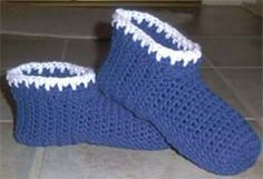 "Crochet Slippers ""Snow Kissed""  - Free Crochet Pattern"