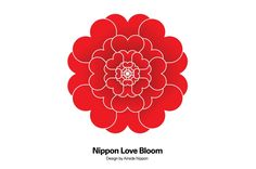 Airside Nippon- Nippon Love Bloom was designed to commemorate the victims of the 3/11 Tohoku Earthquake/Tsunami disaster and pray for the recovery of Japan.