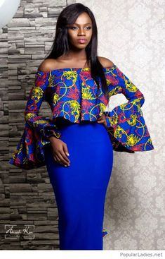 Collection of all the best and most trendy and also stunning ankara styles there are in the fashion world. Comprising of the best of the best ankara styles of all time African Dresses For Women, African Print Dresses, African Print Fashion, Africa Fashion, African Attire, African Wear, African Fashion Dresses, African Prints, African Style