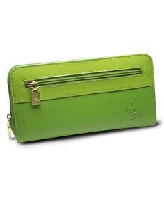 oneoddbird Meadow Robin Leather Wallet | zulily