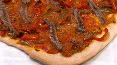 Coca valenciana de tomate y anchoas | Cocina Quiches, Empanadas, Vegetable Pizza, Coco, Tasty, Snacks, Cooking, Healthy, Recipes