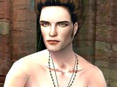 Edward Cullen as a sim