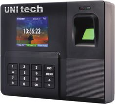 #ATTENDANCE MACHINE   *User Capacity 300/500/1000 *Transaction Record : 50000 *Recognition Speed  : 1 sec *Authentication  : Angle 3600 *Report in Excel Format  *Also Available in Software Based Report   *Optional Battery Backup