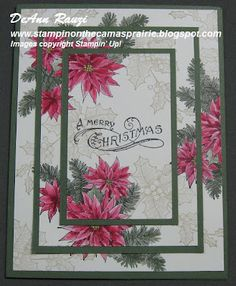 Stampin' on the Prairie - Triple Time stamping.This is more simple than you could imagine.