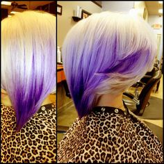 #purple #ombre