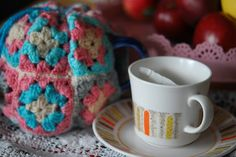 Love this thrifted tea cosy