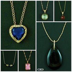Colares para combinar com seu look!! www.ckdsemijoias.com.br