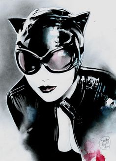 CATWOMAN, in Shelton Bryant's catwoman Comic Art Gallery Room - 1140508