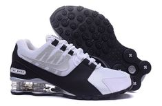 brand new 8f711 2a747 Nike Shox NZ White Black Silver Mens Running Shoes Sneakers DC001089