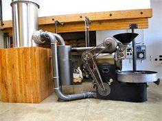 Vintage Probat Coffee Roaster at Sightglass