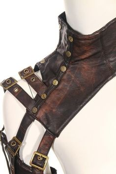 rq-bl steam punk costume accesories studded arm sleeves Synthetic Leather arm warmer(single) SP093