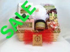 On Sale $29.99 Christmas Eco Spa Gift Basket •NATURAL AND ORGANIC INGREDIENTS. •PARABEN FREE •SULFATES FREE •SLS FREE • VEGAN •CRUELTY FREE •ECO-FRIENDLY