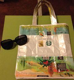 Coffee bag handbag 2