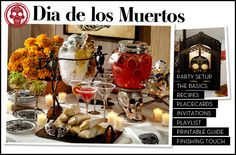 Dia de los Muertos Party Pottery Barn Style | style + our own Mexican touch = great time!
