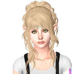 sjokosims:  Newsea Ferris Wheel  Adults only Custom Thumb  Shorter Bangs + Updated Texture This will replace my previous version.  Mediafire