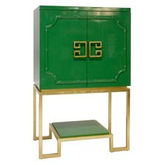 Green Bar Cabinet imported from Memphis, USA.  146H x 93W x 56D.  $4,995 FREE SHIPPING AUSTRALIA WIDE http://www.thestyleproject.com.au