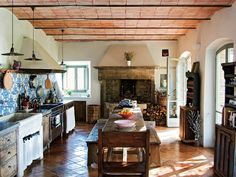 Tuscan kitchen-from