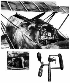 Fokker DVII cockpit photos