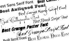 Ecco i migliori siti dove trovare e scaricare caratteri font gratuiti per Pc. Font Gratis per Photoshop, Cartoline, Publisher e altri programmi di grafica
