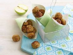 This is a great favourite with my family. Grated apple adds a delicious flavour to these chicken balls, which makes them appealing to young children, and they are tasty hot or cold.You can freeze them after they have been cooked. You can then re heat in the microwave.
