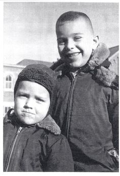 One Branch at a Time - {WORDLESS WEDNESDAY}: DAD AND HIS OLDER BROTHER #genealog