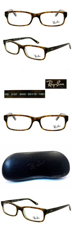 6fe915bf05bdc Eyeglass Frames  Ray Ban Rb 5187 2445 Havana On Green 50 16 140 Eyeglasses  Rx Made Italy - New -  BUY IT NOW ONLY   95.88 on eBay!