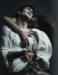 Roberto Bolle and Isadora Loyola in Romeo and Juliet. Photo - Fabrizio Ferri, American Ballet Theatre.