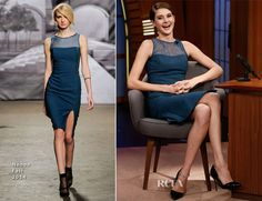 Shailene Woodley In Nonoo – Late Show with Seth Meyers