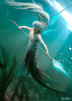 Tritón guerrero