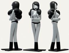 Les Art Toys une collection de figurines pour les web designers et créatifs   Blog du Webdesign