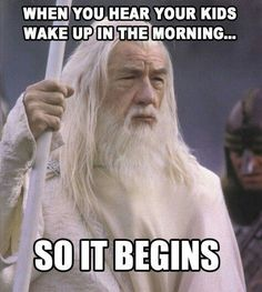 """Stop trying to make """"sleep"""" happen. It's not going to happen. #parentingboyshumor"""