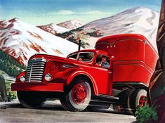 Plan59 :: Classic Truck Art :: 1948 GMC Trucks