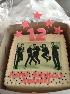 One Direction Birthday Cakes