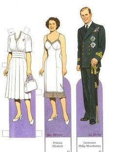 Princess Elizabeth and Prince Philip