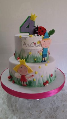 Ben and Holly - Cake by Simona