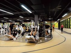 15 interiores de gimnasia