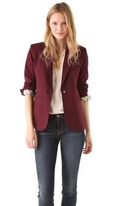 Elizabeth and James Rex Blazer - versatile           , great fit, perfect staple for classic and trend