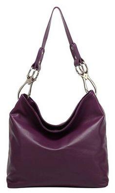 Top Handle Soft Hobo Shopper Handbag