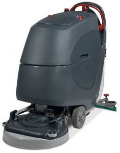 The Numatic TGB6055-100T walk behind scrubber dryer, part of the updated TwinTec graphite range! Now available in a sleek graphite and red colour scheme. Click for more information.