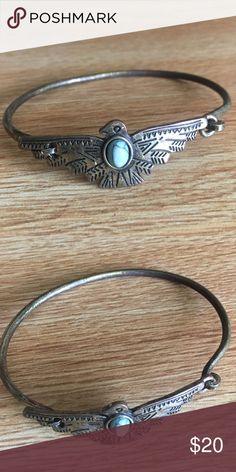 Spotted while shopping on Poshmark: LF Vintage Turquoise Eagle Bracelet! #poshmark #fashion #shopping #style #LF #Jewelry