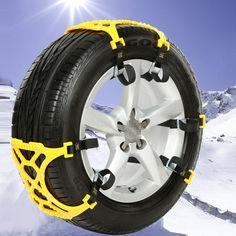 Top Quality 1 PZ TPU Catene Da Neve Auto Universale Suit 70*27 Inverno Sicurezza Sulle Strade Pneumatico Catene Da Neve Arrampicata terra Anti Slip