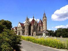 pałac, Moszna
