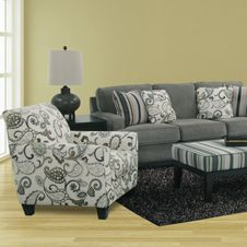 Yvette Upholstery Collection Steel