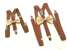 Father and Son Navy Blue Bow tie Brown Suspenders Mens bowtie Rustic Wedding blue Ring Bearer Outfit Groomsmen Bow ties boys ,kids, baby by DreamsareMagic on Etsy Suspenders For Kids, Bowtie And Suspenders, Wedding Suspenders, Bowtie Mens, Groomsman Attire, Suspenders Outfit, Bowties, Navy Blue Bow Tie, Suspenders