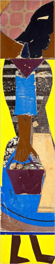Romare Bearden (1911-88) spent more than 30 years striving to be a great artist, and in the early 1960s, when he took up collage in earnest, he became one.   beyond collage.